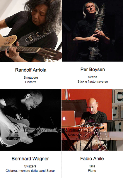 Randolf Arriola, Bernhard Wagner, Fabio Anile