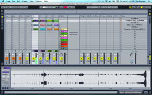 Ableton Live, stage screen